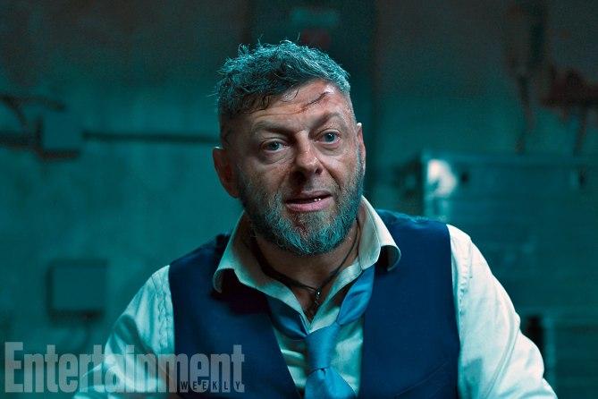 """Andy Serkis kehrt für """"Black Panther"""" in die Rolle von Ulysses Klaue zurück"""