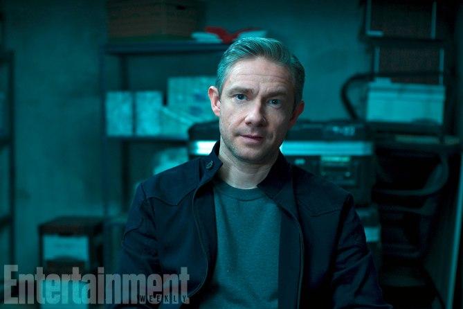 """Ein Wiedersehen gibt es auch mit """"Captain America 3""""-Agent Everett K. Ross (Martin Freeman)"""