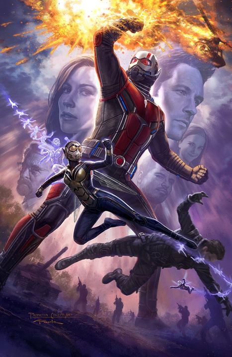 "Das Comic-Con-Poster zu ""Ant-Man And The Wasp"""