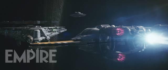"""Der neue X-Wing von Poe Dameron (Oscar Isaac) in """"Star Wars 8: Die letzten Jedi"""""""