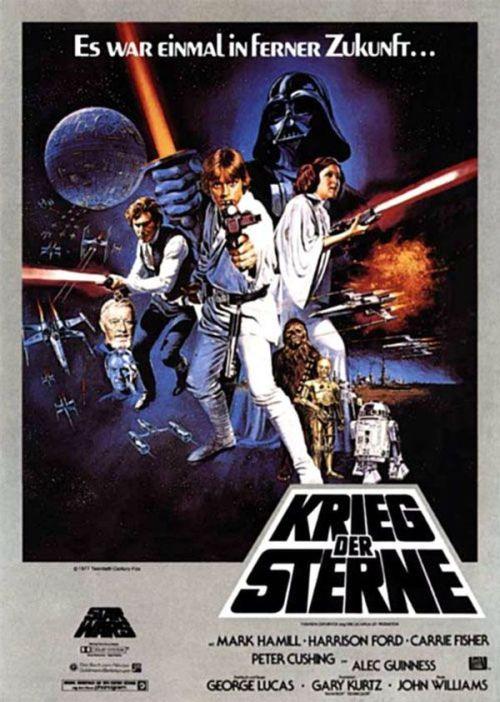 """Zur Poster-Veröffentlichung von """"Star Wars: Die letzten Jedi ..."""