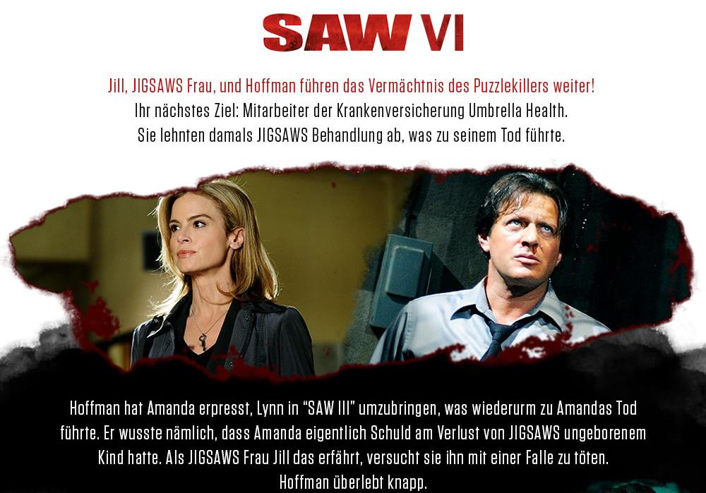 """""""Saw VI"""": Zwist zwischen Jigsaws Komplizen"""