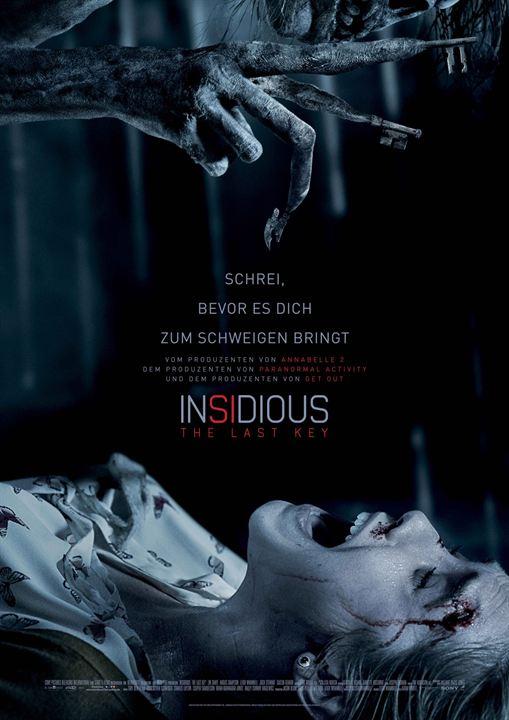 "Das deutsche Plakat zu ""Insidious 4: The Last Key"""