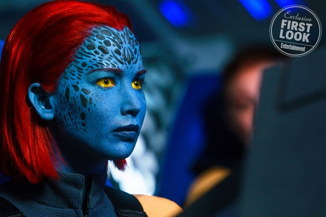 "Jennifer Lawrence als Mystique in ""X-Men: Dark Phoenix"""