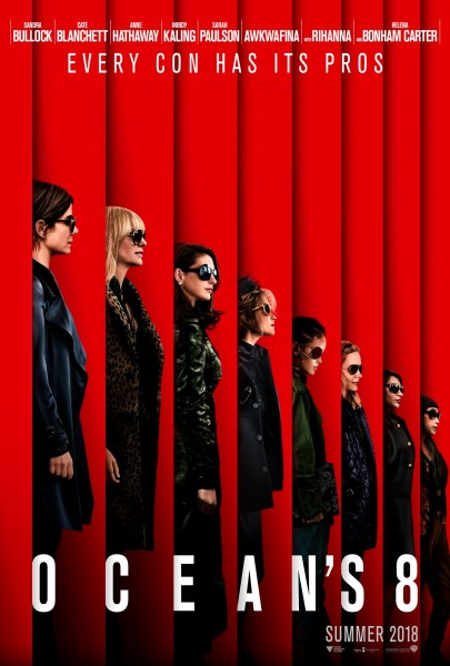 """Sandra Bullock und Co. auf dem ersten Poster zu """"Ocean's 8"""""""