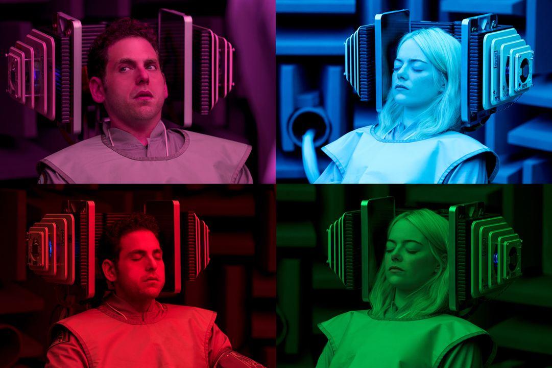 "Jonah Hill und Emma Stone in ""Maniac"""