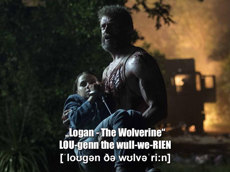 """Logan - The Wolverine"""