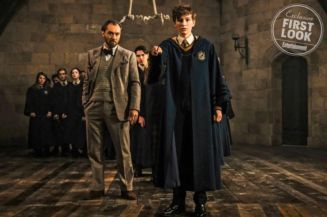 """Dumbledore und der junge Newt in """"Phantastische Tierwesen 2"""""""
