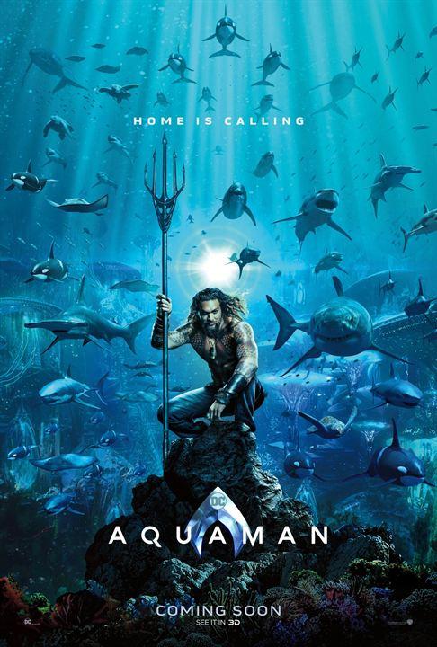 "Das erste Poster zu ""Aquaman"""