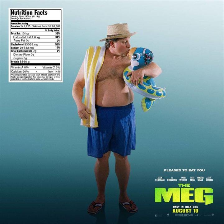 """Kuriose Poster zu """"Meg"""""""