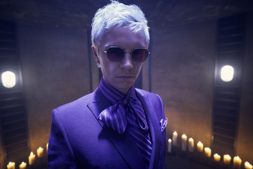 "Evan Peters als Mr. Gallant in ""American Horror Story: Apocalypse"""
