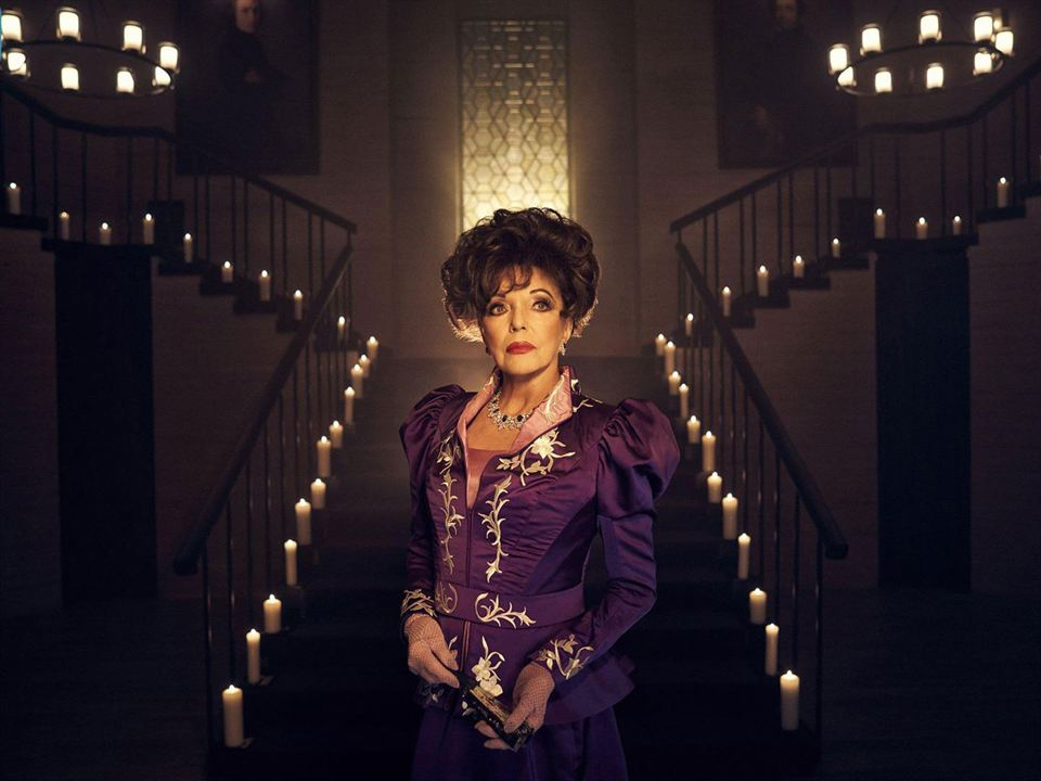 "Joan Collins als Evie Gallant in ""American Horror Story: Apocalypse"""