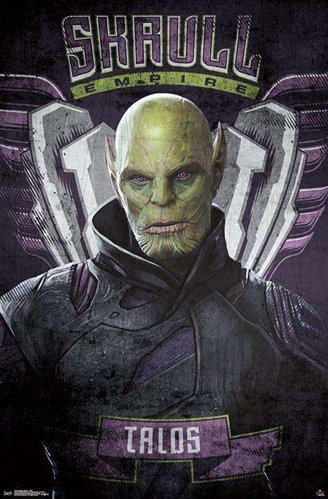 Vor Avengers 4 Kommt Captain Marvel Stylishe Poster Zeigen Uns