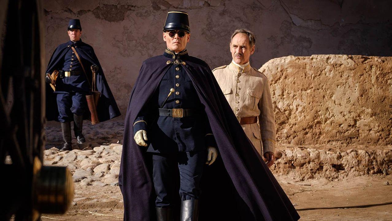 """Johnny Depp in """"Warten auf die Barbaren"""""""