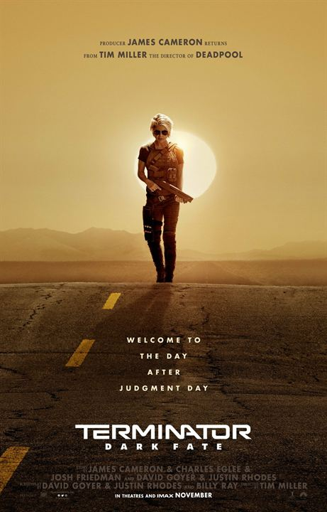 """Vor dem Trailer: Das erste Poster zu """"Terminator: Dark Fate"""" verweist auf """"Terminator 2"""""""