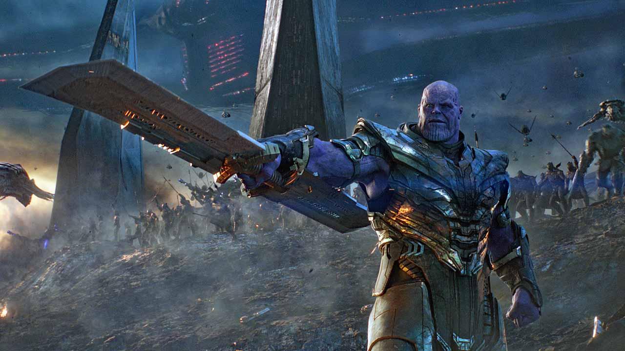 Avengers: Endgame - cover