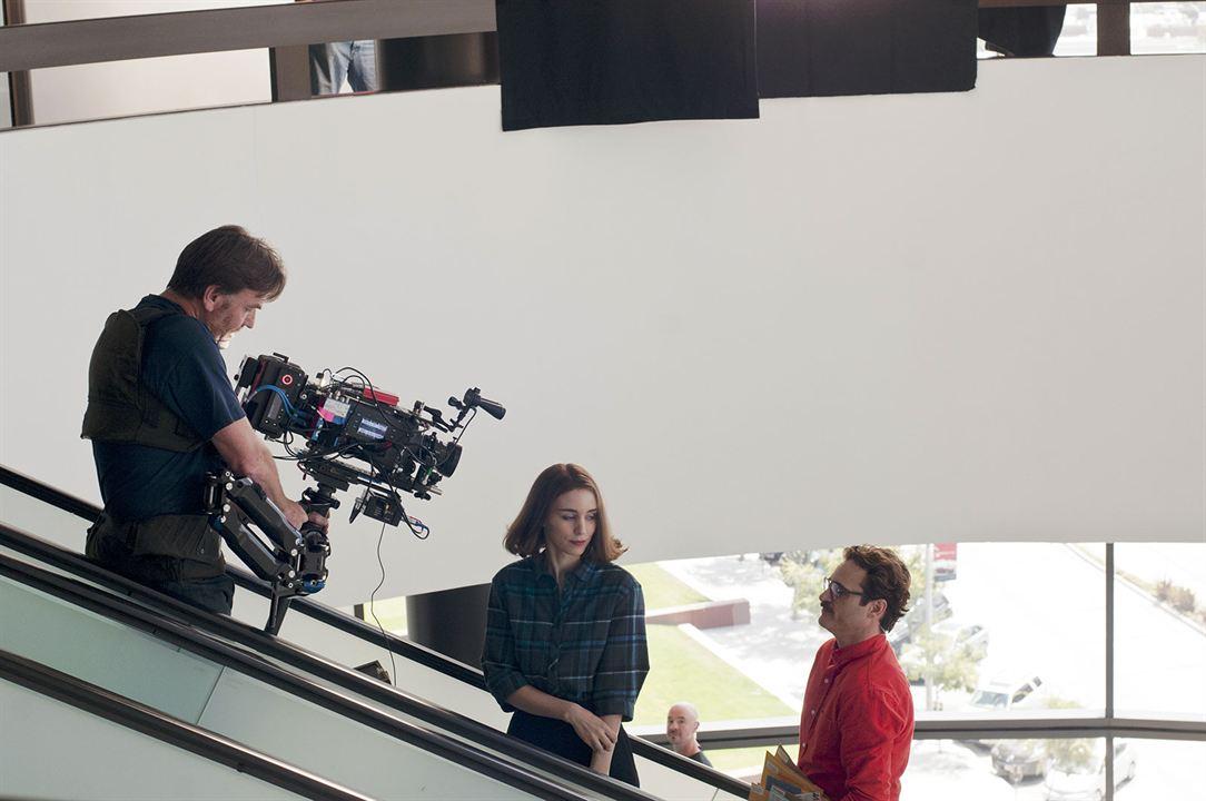Her : Bild Joaquin Phoenix, Rooney Mara, Spike Jonze