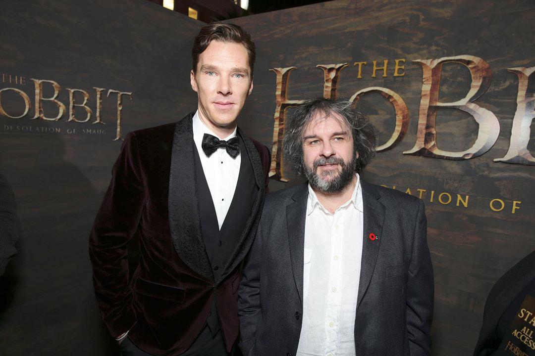 Der Hobbit: Smaugs Einöde : Vignette (magazine) Benedict Cumberbatch, Peter Jackson