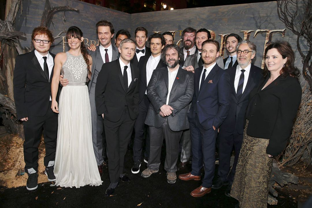 Der Hobbit: Smaugs Einöde : Vignette (magazine) Aidan Turner, Benedict Cumberbatch, Dean O'Gorman, Evangeline Lilly, Howard Shore