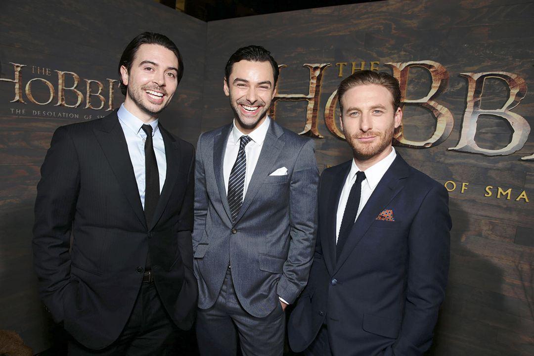 Der Hobbit: Smaugs Einöde : Vignette (magazine) Aidan Turner, Dean O'Gorman, Ryan Gage