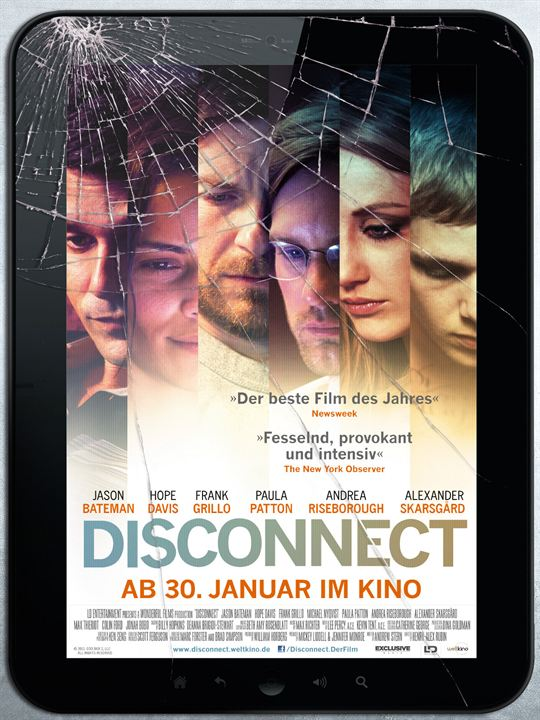 Disconnect : Kinoposter