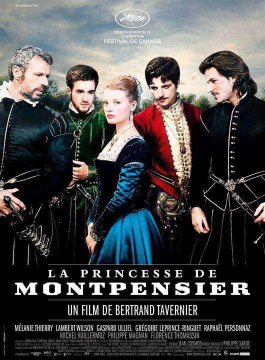 Die Prinzessin von Montpensier : Kinoposter Grégoire Leprince-Ringuet, Raphaël Personnaz