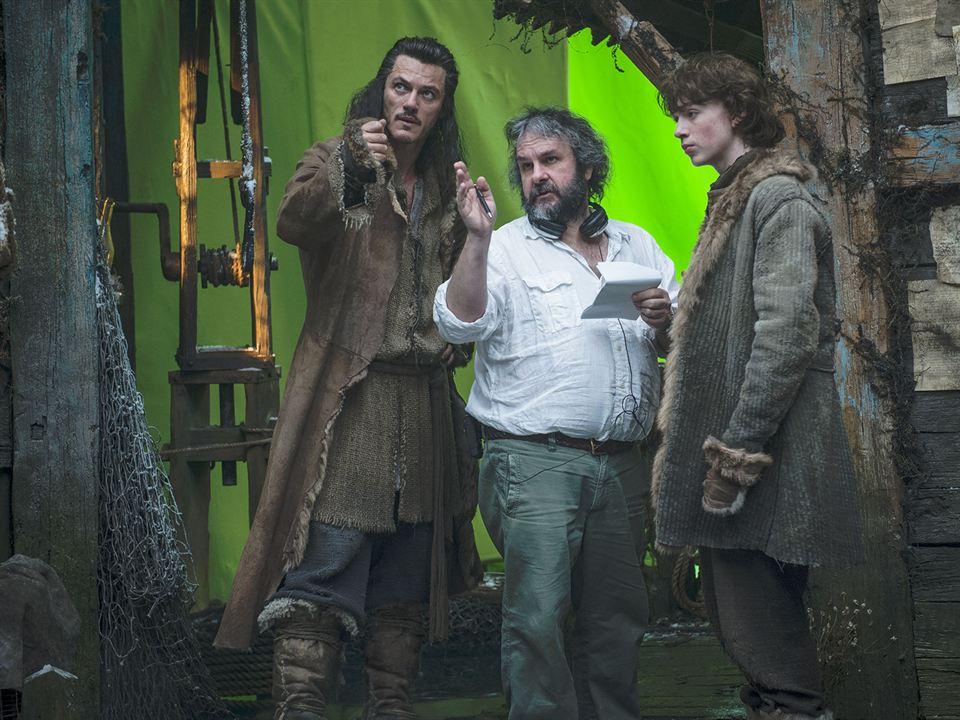 Der Hobbit: Smaugs Einöde : Bild Luke Evans, Peter Jackson