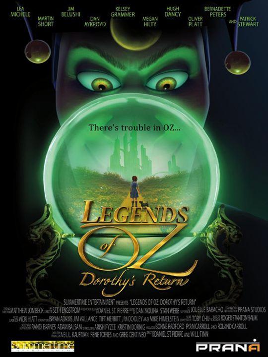 Die Legende von Oz - Dorothy's Rückkehr : Kinoposter