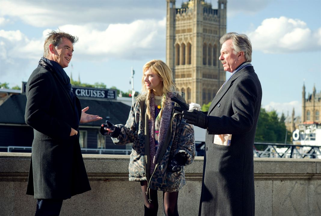 A Long Way Down : Bild Imogen Poots, Pierce Brosnan, Sam Neill