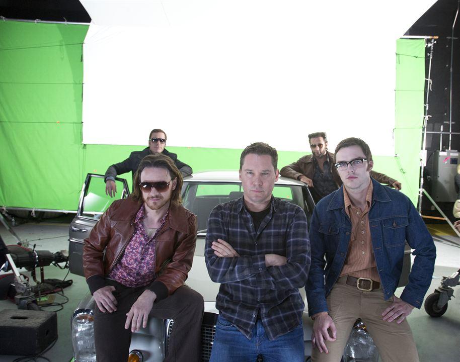 X-Men: Zukunft ist Vergangenheit : Bild Bryan Singer, Hugh Jackman, James McAvoy, Michael Fassbender, Nicholas Hoult