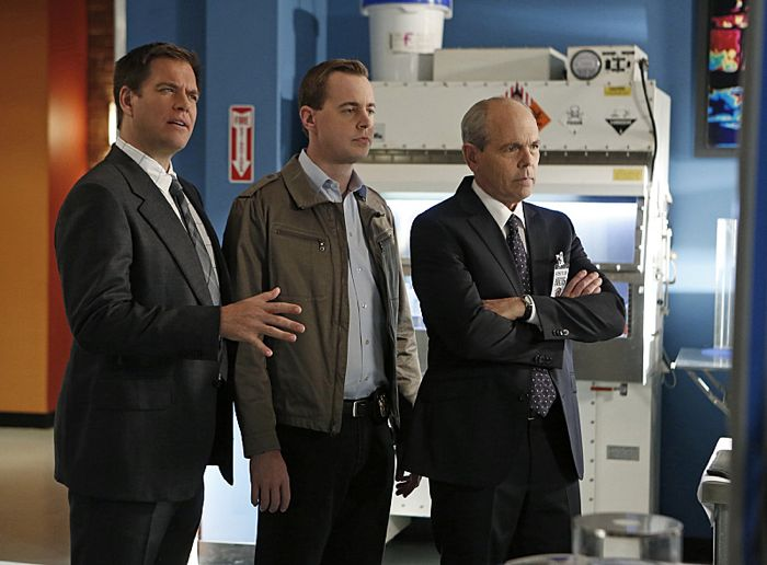 Bild Joe Spano, Michael Weatherly, Sean Murray