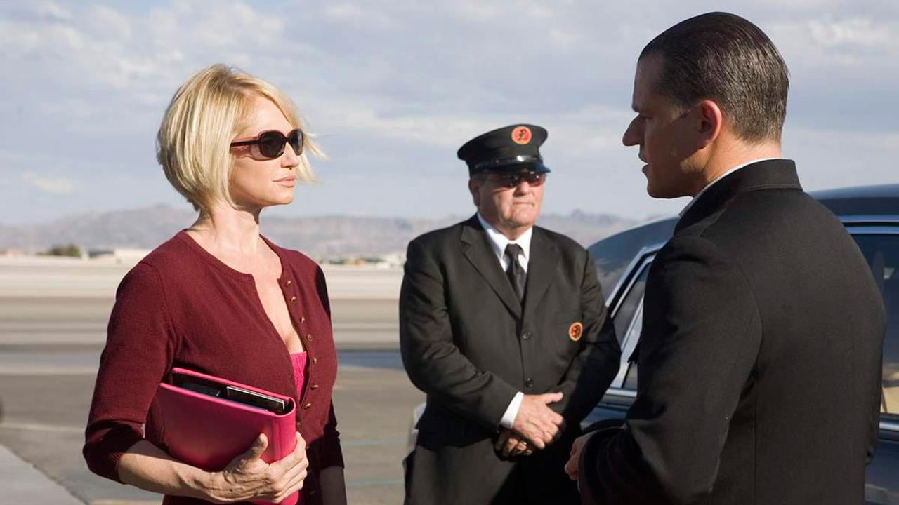 Ocean's Thirteen : Bild Ellen Barkin, Matt Damon