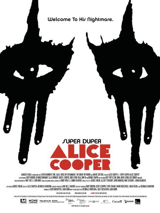 Super Duper Alice Cooper : Kinoposter