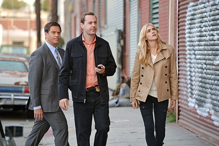 Bild Emily Wickersham, Michael Weatherly, Sean Murray