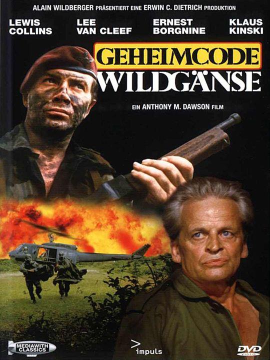 Geheimcode Wildgänse : Kinoposter