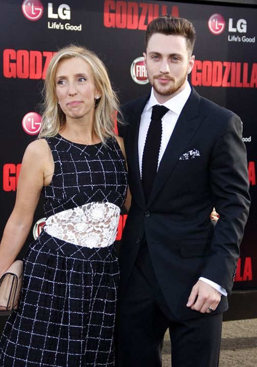 Godzilla : Vignette (magazine) Aaron Taylor-Johnson, Sam Taylor-Johnson
