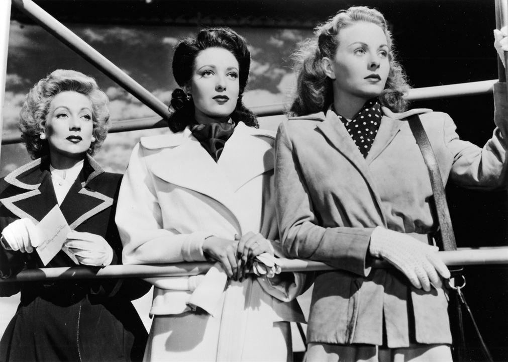 Ein Brief an drei Frauen : Bild Ann Sothern, Jeanne Crain, Linda Darnell