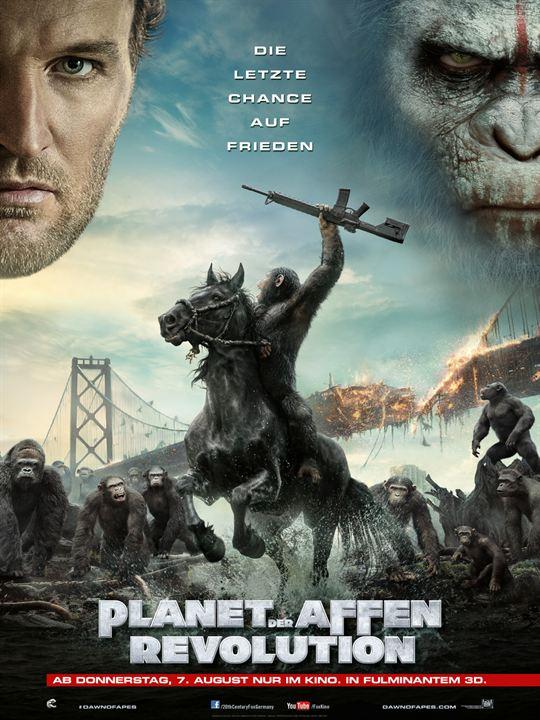 Planet Der Affen Revolution Netflix