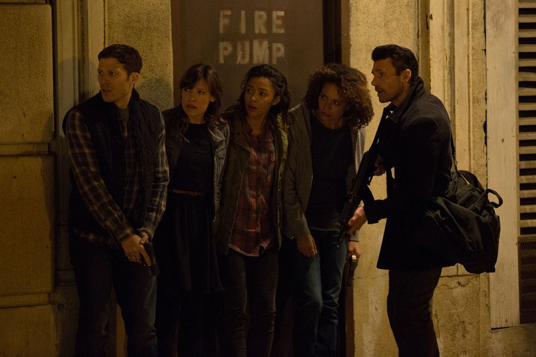 The Purge 2: Anarchy : Bild Carmen Ejogo, Frank Grillo, Kiele Sanchez, Zach Gilford