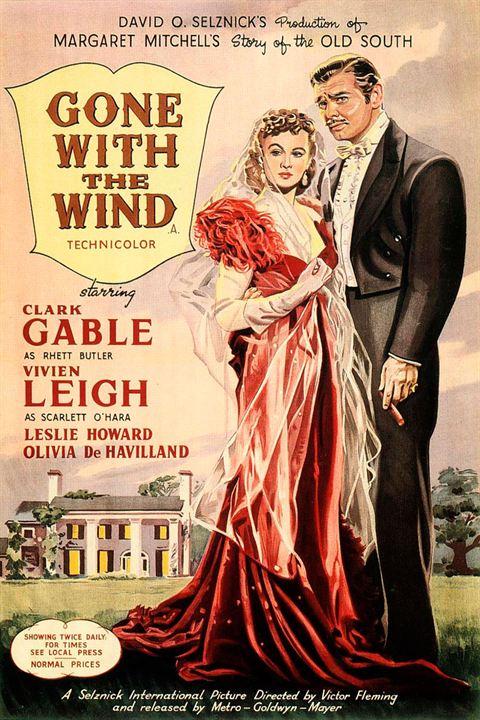 Vom Winde verweht : Kinoposter