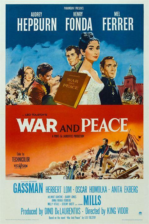 Krieg und Frieden : Kinoposter