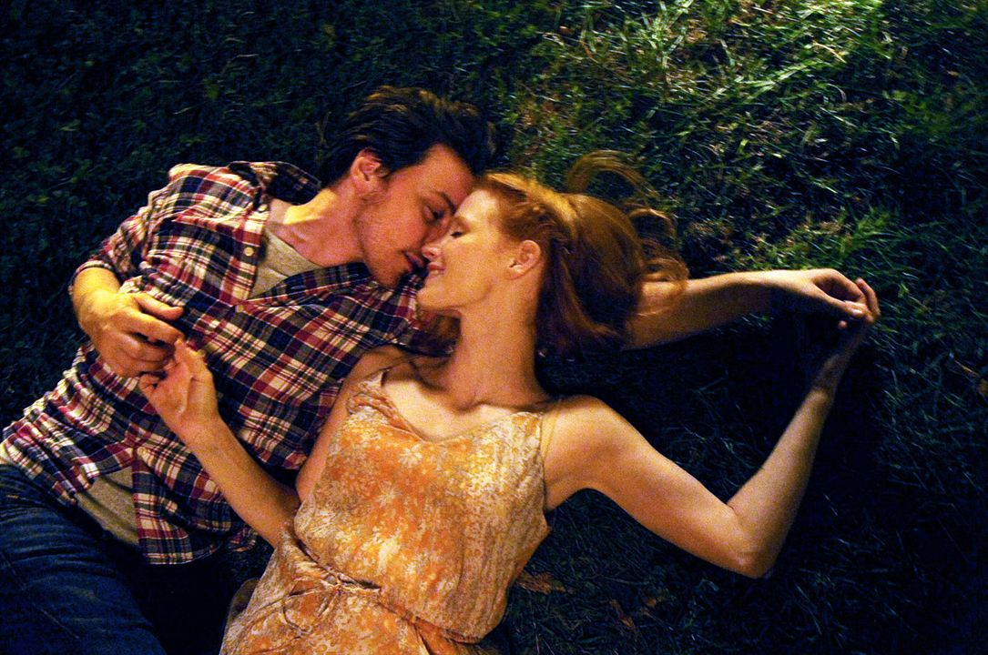 Bild James McAvoy, Jessica Chastain