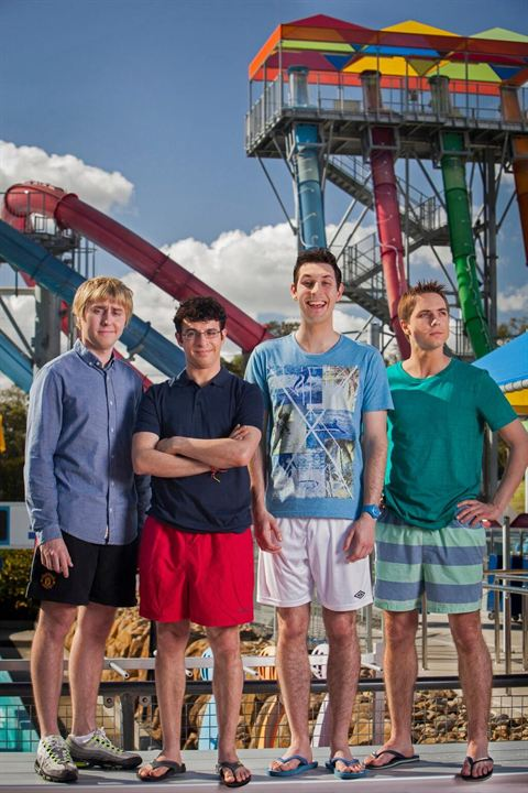 Sex on the Beach 2 : Bild Blake Harrison, James Buckley, Joe Thomas (XIX), Simon Bird