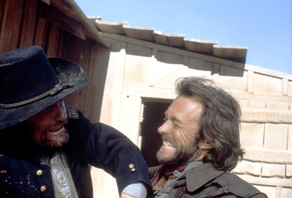 Der Texaner : Bild Bill McKinney, Clint Eastwood