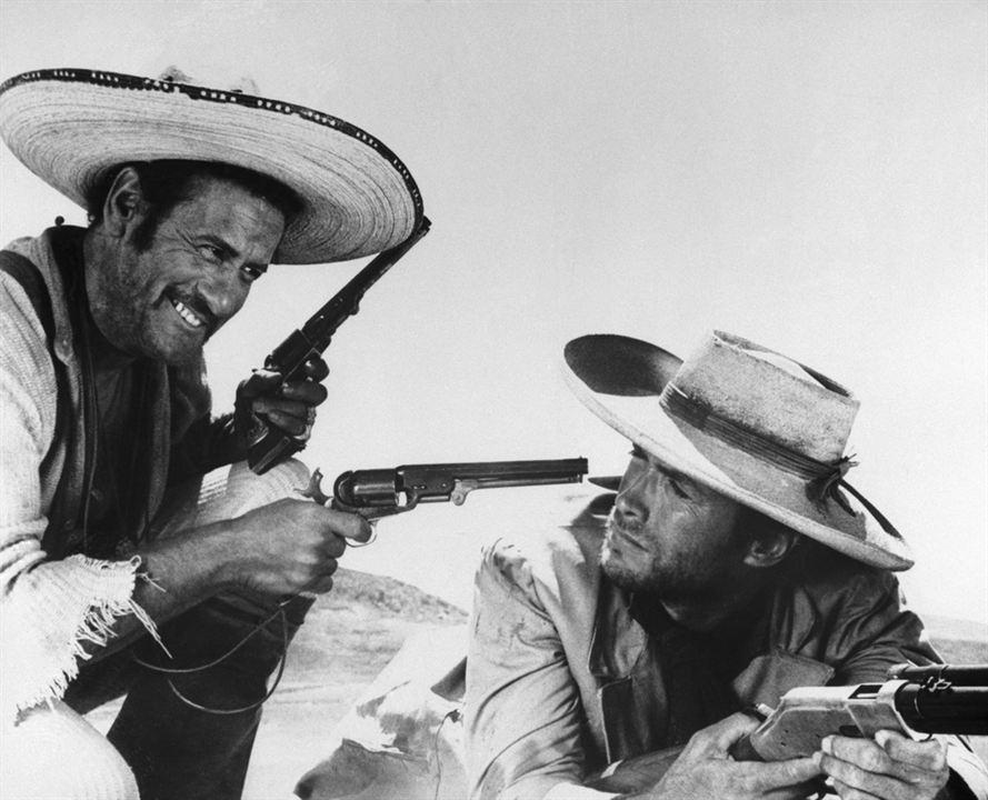 Zwei glorreiche Halunken : Bild Clint Eastwood, Eli Wallach