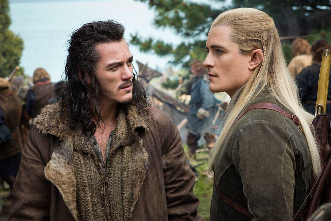 Der Hobbit: Die Schlacht der Fünf Heere : Bild Luke Evans, Orlando Bloom