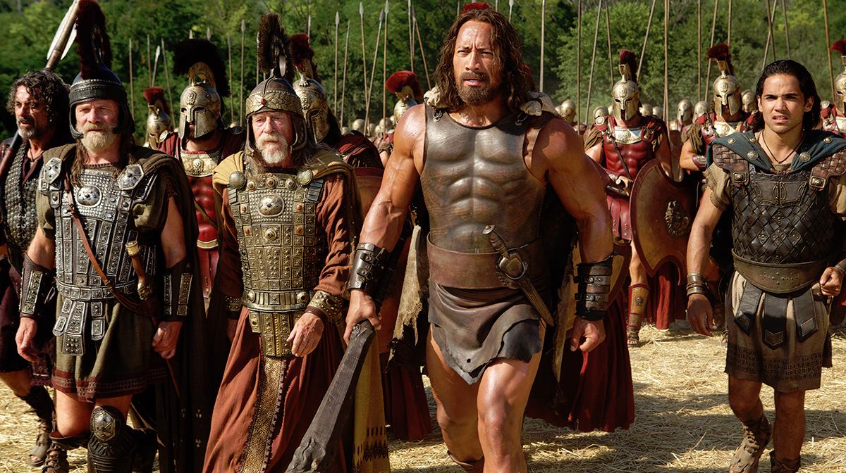 Hercules : Bild Dwayne Johnson, John Hurt, Peter Mullan, Reece Ritchie