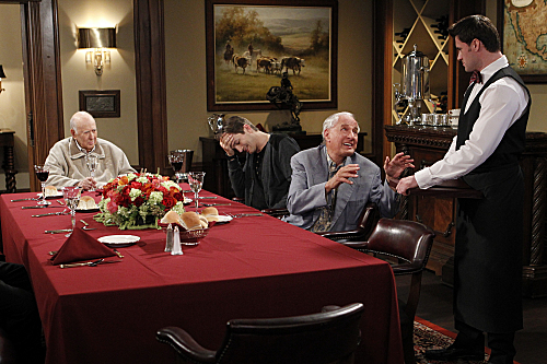 Bild Ashton Kutcher, Carl Reiner, Garry Marshall