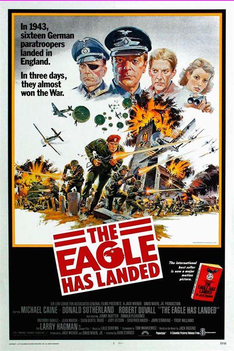 Der Adler ist gelandet : Kinoposter