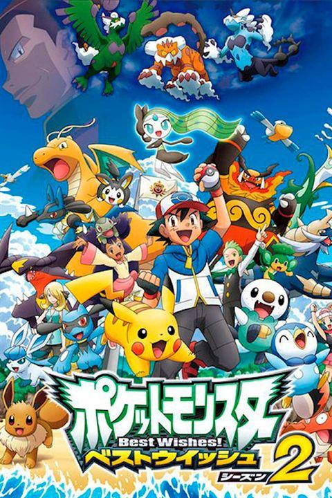 Gekijoban Pocket Monster Best Wishes! Kyurem vs Seikenshi Keldeo : Kinoposter